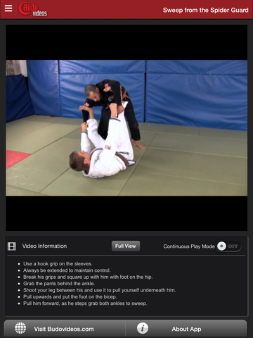 Breakthrough Jiu Jitsu Concepts Vol 4 - ipad chapter action image