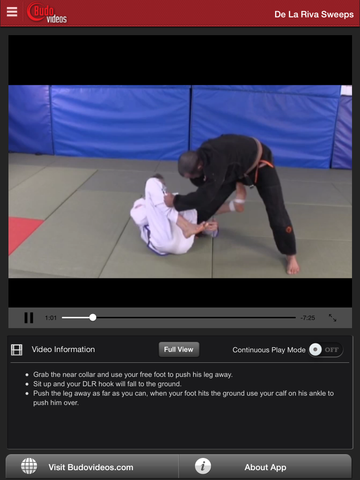 Breakthrough Jiu Jitsu Concepts Vol 5 - ipad chapter action image