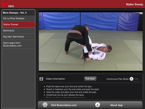 Breakthrough Jiu Jitsu Concepts Vol 5 - ipad landscape menu image