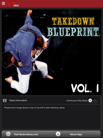 The Takedown Blueprint by Jimmy Pedro and Travis Stevens Vol. 1 - ipad main title screen image