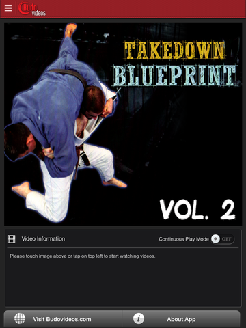 The Takedown Blueprint by Jimmy Pedro and Travis Stevens Vol. 2 - ipad main title screen image