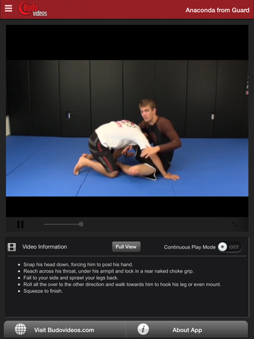 No Gi Blueprint - Guard Submissions by Keenan Cornelius Vol 2 - ipad chapter action image