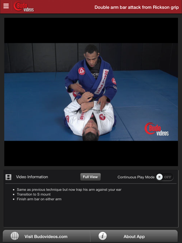 Rafael Freitas Favorite Moves- Side Mount & Mount Attacks - ipad chapter action image