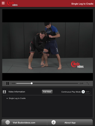 Sambo Jiu-jitsu Fusion Vol 1 - Throws and Takedowns by Vladislav Koulikov - ipad chapter action image