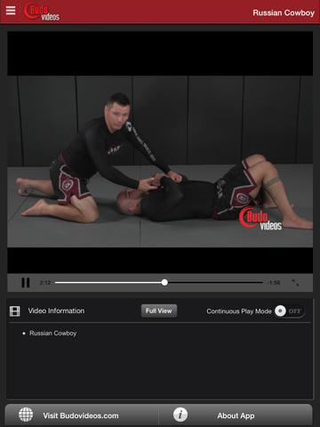 Sambo Jiu-jitsu Fusion Vol 3 - Leg Locks by Vladislav Koulikov - ipad chapter action image