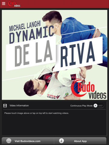 Michael Langhi Dynamic De La Riva - ipad main title screen image