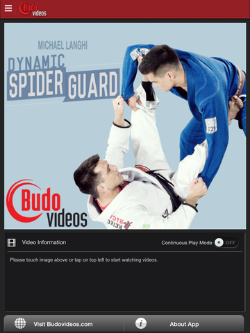Michael Langhi Dynamic Spider Guard - ipad main title screen image