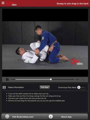 Michael Langhi Dynamic Spider Guard - ipad chapter action image