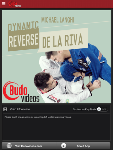 Michael Langhi Dynamic Reverse De La Riva - ipad main title screen image