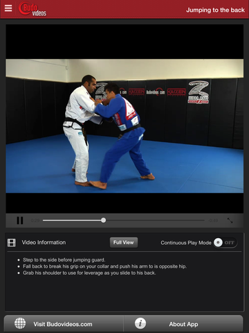 Cobrinha BJJ Vol 1 - Closed Guard - ipad chapter action image