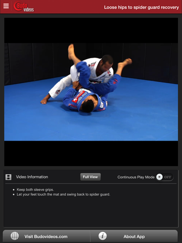 Cobrinha BJJ Vol 5 - Double Underhooks - ipad chapter action image