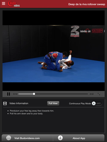 Cobrinha BJJ Vol 6 - Inverted Guard - ipad chapter action image