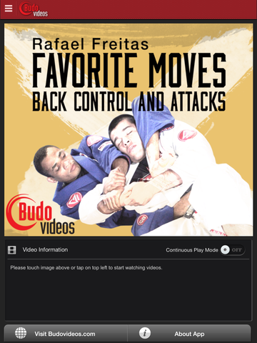 Rafael Freitas Favorite Moves- Back Control and Attacks - ipad main title screen image