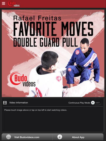 Rafael Freitas Favorite Moves - Double Guard Pull - ipad main title screen image