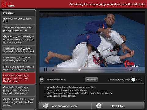 Rafael Freitas Favorite Moves- Back Control and Attacks - ipad landscape menu image
