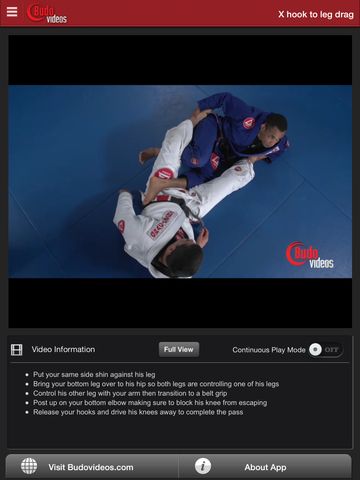 Rafael Freitas Favorite Moves - Double Guard Pull - ipad chapter action image