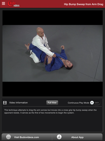 Science of the Closed Guard - Cross Grip Attacks with Dan Lukehart - ipad chapter action image