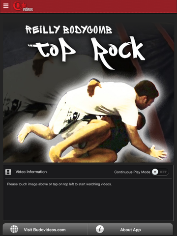 Top Rock by Reilly Bodycomb - ipad main title screen image