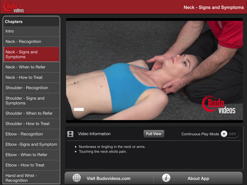 Sports Injury Recognition by Ethan M. Kreiswirth, PhD, ATC - ipad landscape menu image