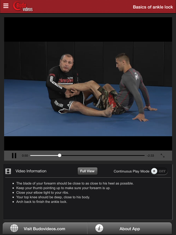 Gokor Leglock Encyclopedia Vol. 1 - Throws and Leglocks - ipad chapter action image