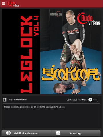 Gokor Leglock Encyclopedia Vol. 4 - Leglocks from Everywhere Part 2 - ipad main title screen image