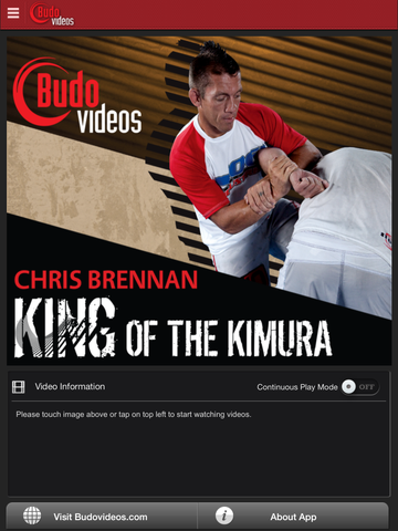 Chris Brennan - King of the Kimura - ipad main title image