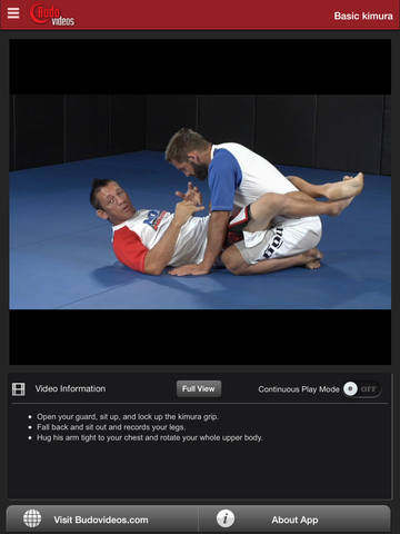 Chris Brennan - King of the Kimura - ipad chapter action image
