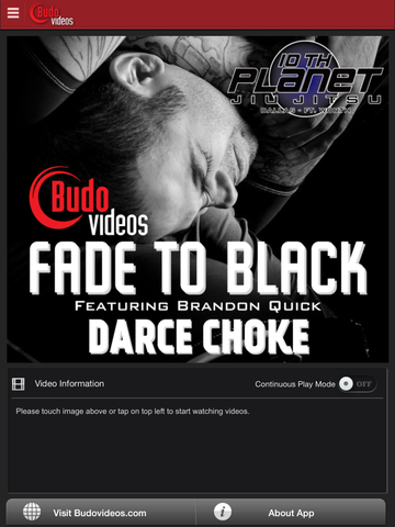 Fade to Black Vol 1 - Darce Chokes - ipad main title screen image