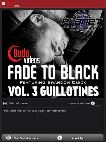 Fade to Black Vol 3 - Guillotines - ipad main title screen image