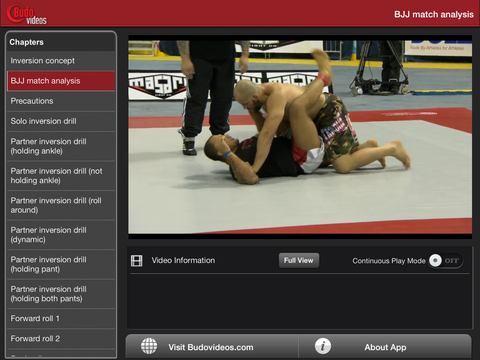 Going Upside Down - A Beginners Guide to Inverting for BJJ by Budo Jake - ipad landscape menu image