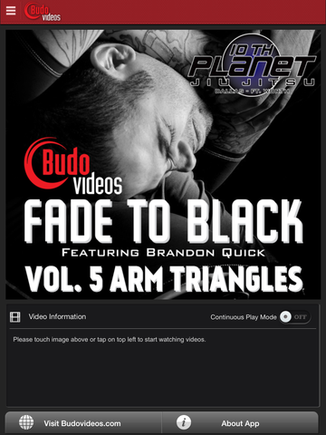 Fade to Black Vol 5 - Arm Triangles - ipad main title screen image