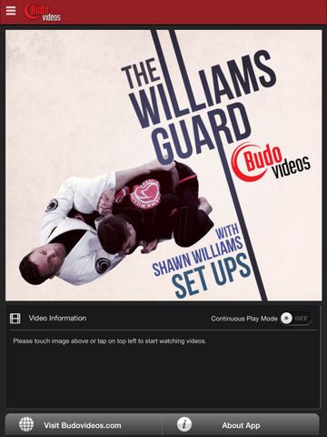 The Williams Guard - Set Ups - ipad main title screen image