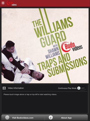 The Williams Guard - Traps and Submissions - ipad main title screen image