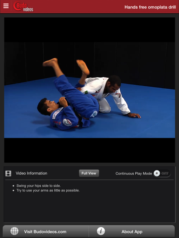 Cobrinha BJJ Vol 7 - Omoplata - ipad chapter action image