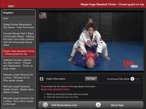 10 BJJ Moves You Must Know! iPad Landscape Menu Image
