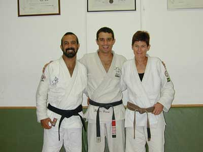 Kid Peligro, Royler Gracie, and Sussi - Kid's Wife
