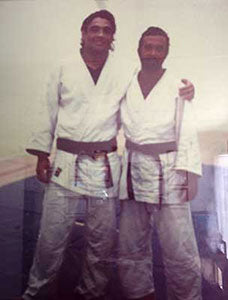 Rickson Gracie and Kid Peligro