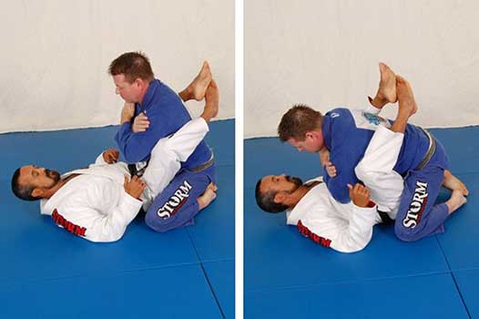 Example from the Secrets of the Closed Guard by Kid Peligro