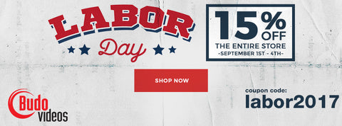 Budovideos Labor Day Sale 2017