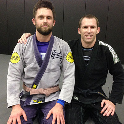 Scramble Founder Matt Benyon with Budo Jake