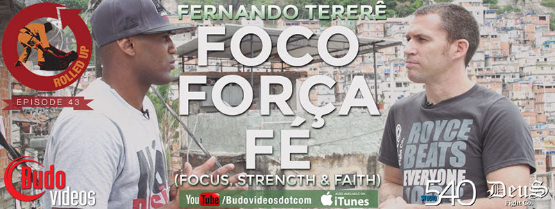 Banner for episode 43 of Rolled Up with Fernando Terere