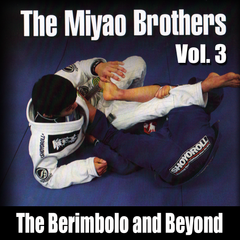 The Berimbolo and Beyond by Miyao Brothers Vol. 3 - main store product image
