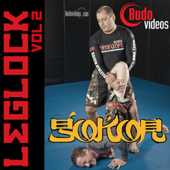 Gokor Leglock Encyclopedia Vol. 2 - Open Guard Leglocks - main store product image