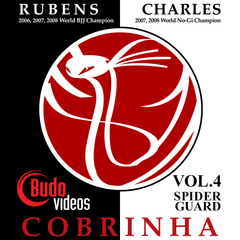 Cobrinha BJJ Vol 4 - Spider Guard - main store product imagte