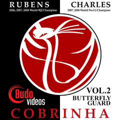 Cobrinha BJJ Vol 2 - Butterfly Guard - main store product image