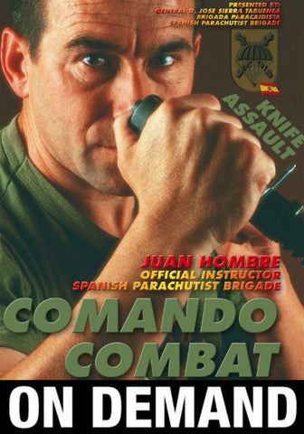 Commando Combat Knife Assault with Juan Hombre (On Demand) - Budovideos