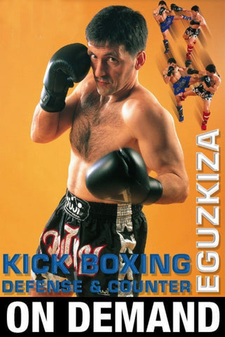 Kick Boxing Defense & Counters by Jose Vicente Eguzkiza (On Demand) - Budovideos
