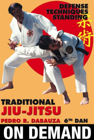 Traditional Ju Jitsu Vol 3 Standing Techniques with Pedro Dabauza (On Demand) - Budovideos