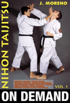 Nihon Taijitsu Vol 1 Defense Against Front Grabs with J Moreno (On Demand) - Budovideos