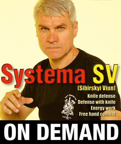 RMA Systema SV Empty Hands & Knife with Dmitry Skogorev (On Demand)